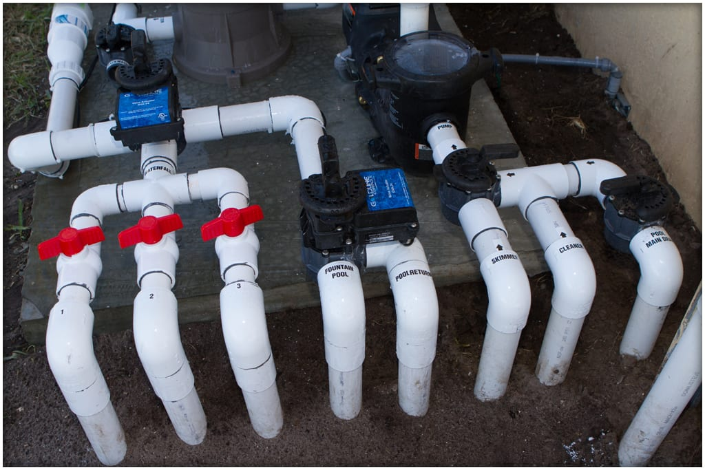 Proper Pool Plumbing : Why proper water flow is essential for your heat pump