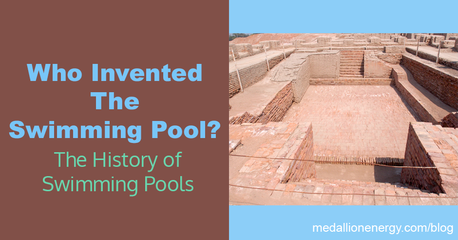 who invented the swimming pool history of swimming pools
