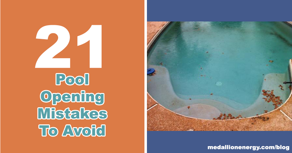 21 pool opening mistakes to avoid pool heat pumps pool for Pool design mistakes