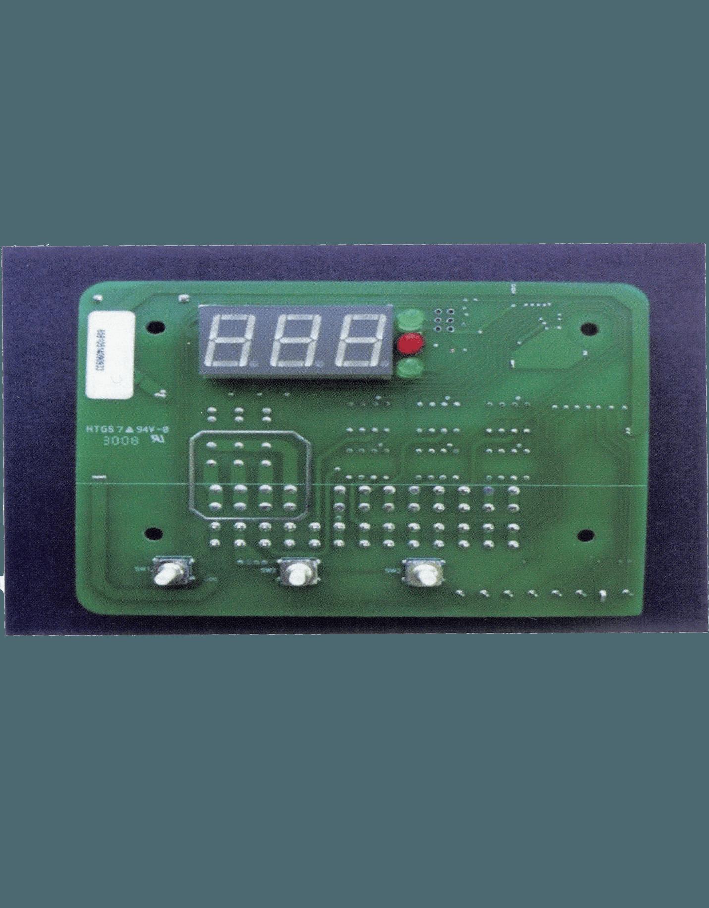 pool heater control board