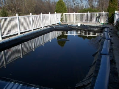 How to open your swimming pool inground pool opening - Opening a swimming pool after winter ...