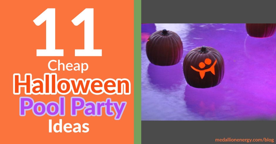11 cheap halloween pool party ideas pool halloween party - Halloween swimming pool decorations ...