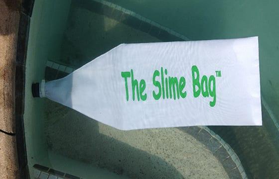 pool slime bag add to improve sand pool filtration