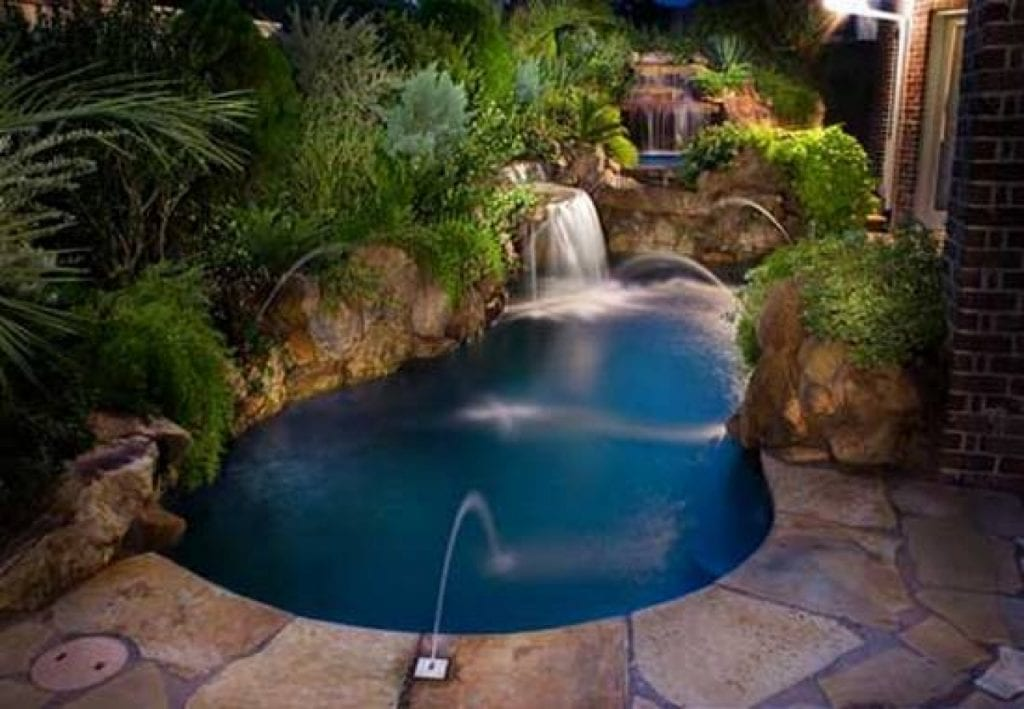 Beautiful Small Inground Pools Small Backyards
