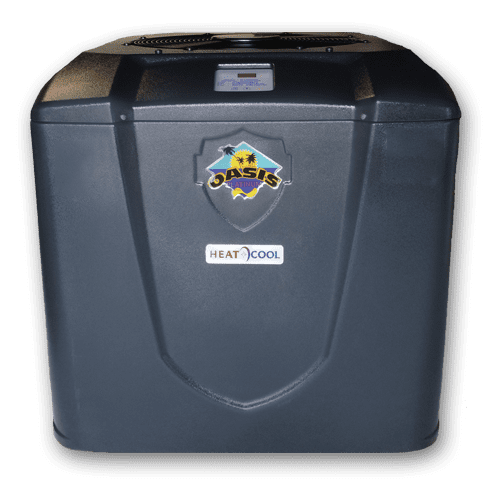 pool heat pumps oasis heat pump pool heaters