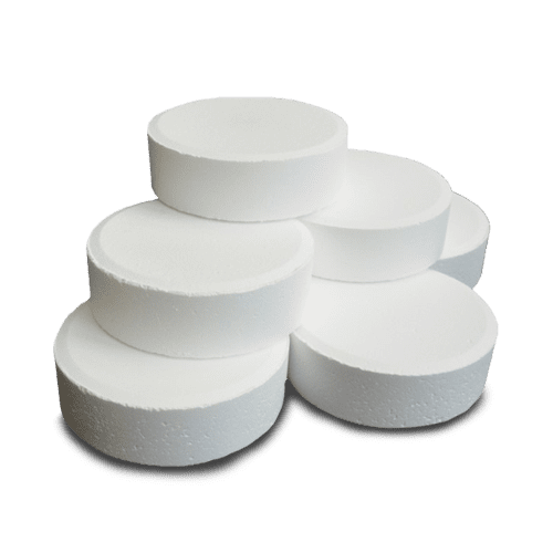 chlorine tablets for chlorinating swimming pools