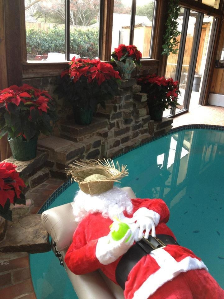 Inflatable Pool Decorating Ideas