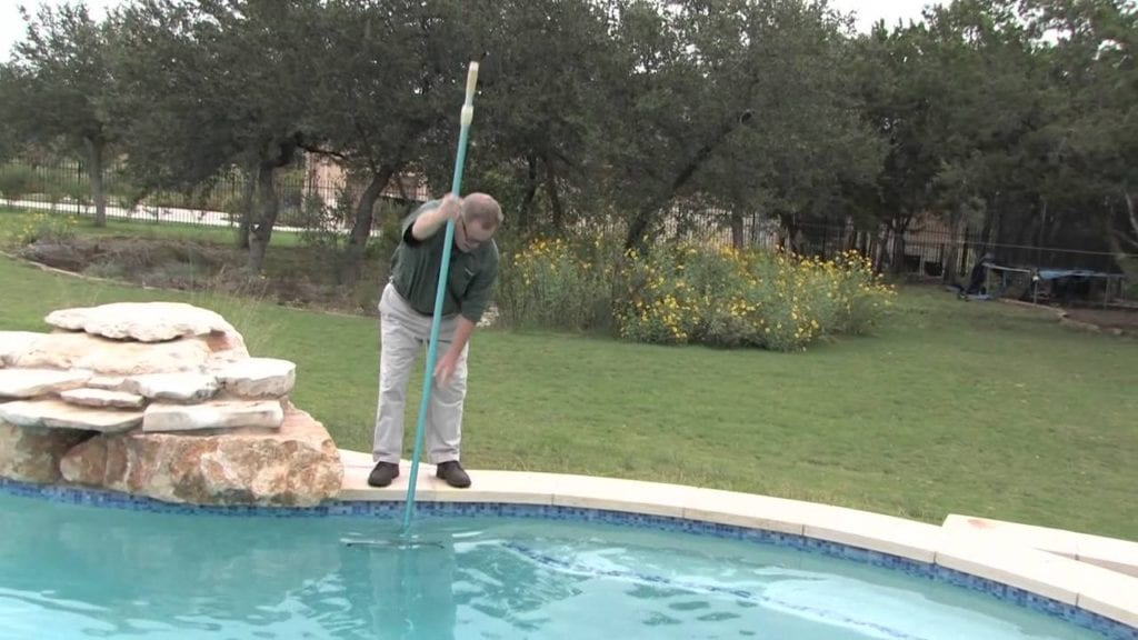 brushing pool cost to maintain a pool