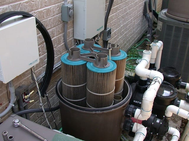 clean pool filter cost time of pool maintenance