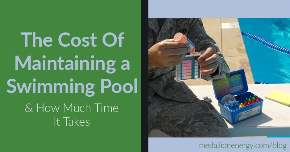 cost to maintain a swimming pool how long pool maintenance takes