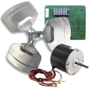 heat pump pool heater parts
