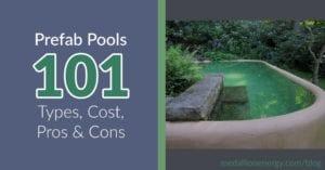 prefab pools precast concrete pools fiberglass pools